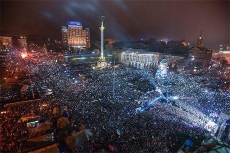 Новий рік, Євромайдан