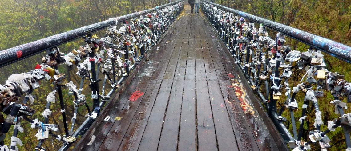 міст закоханих, міст, ремонт, євромайдан