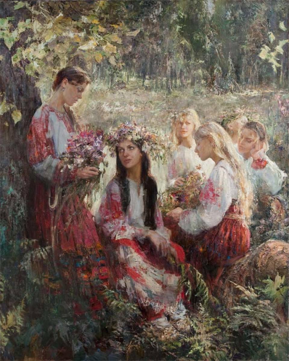 Квіти у волоссі - знову в моді українські віночки - фото 3