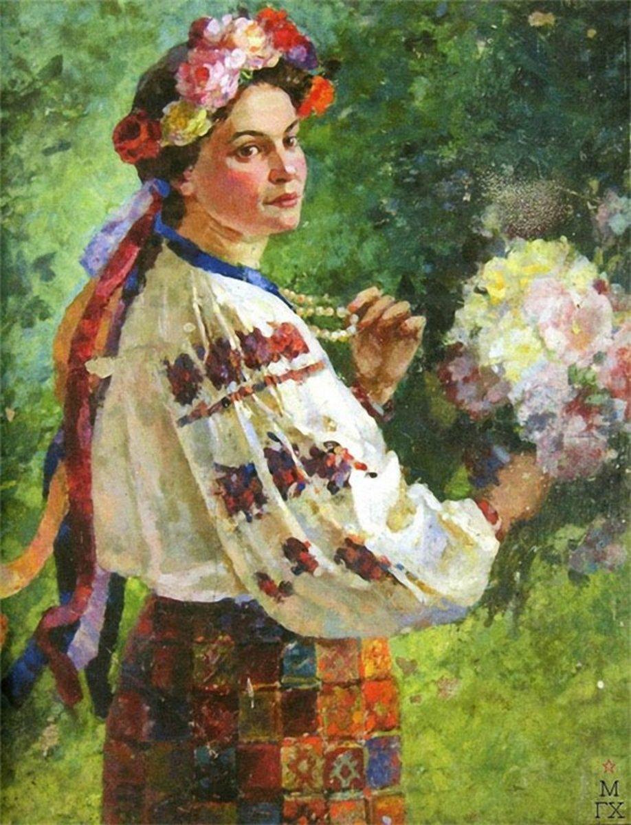 Фото українок у вінку 2 фотография