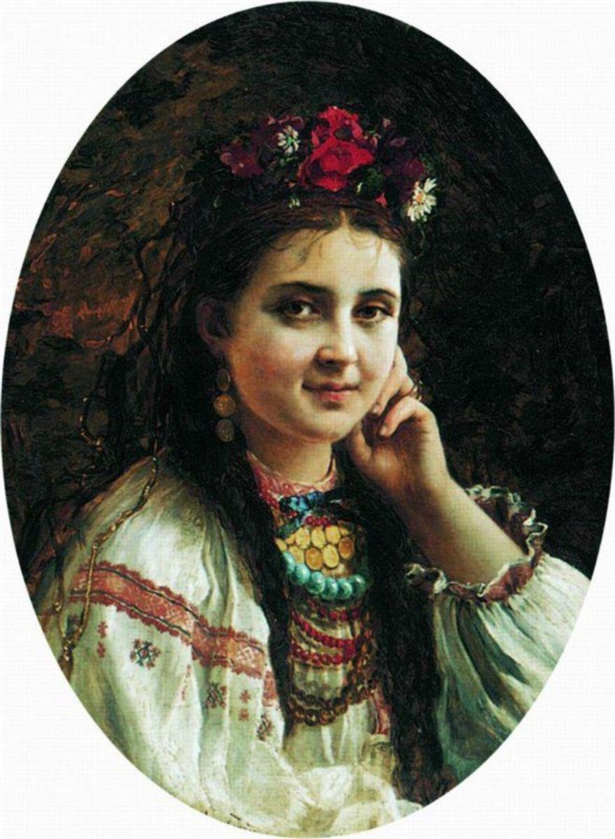 Фото українок у вінку 9 фотография